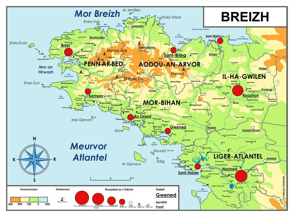 Ur rannvro en Europa : Breizh - Blog liseaned divyezhek Lannuon
